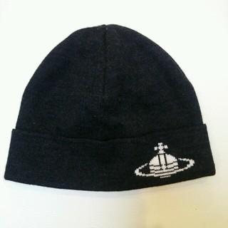 ヴィヴィアンウエストウッド(Vivienne Westwood)の未使用💛ニット帽子 ヴィヴィアン(ニット帽/ビーニー)