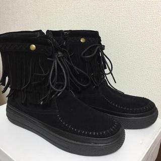 ムジルシリョウヒン(MUJI (無印良品))のショートブーツ 美品(ブーツ)
