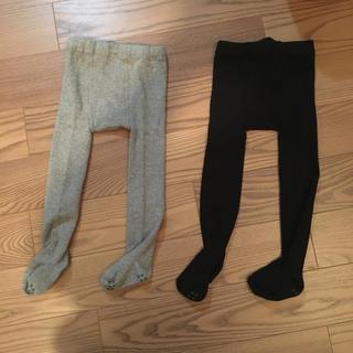 ムジルシリョウヒン(MUJI (無印良品))の無印良品 ベビー タイツ 未使用(靴下/タイツ)