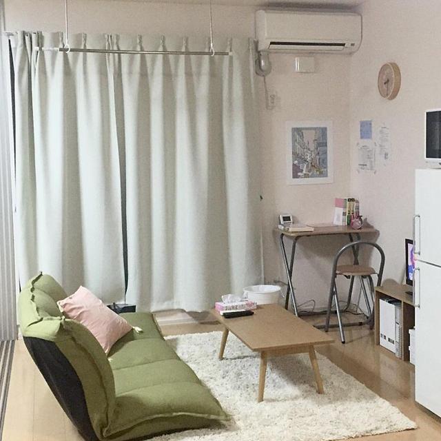 MUJI (無印良品)(ムジルシリョウヒン)の無印良品❤︎カーテン インテリア/住まい/日用品のカーテン/ブラインド(カーテン)の商品写真