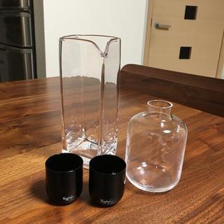 スガハラ(Sghr)のスガハラガラス 日本酒セット お値下げしました!(グラス/カップ)