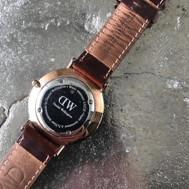 Daniel Wellington(ダニエルウェリントン)のDaniel Wellington 腕時計 すもーくちーず様専用♪ メンズの時計(レザーベルト)の商品写真