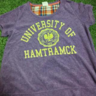 キューブシュガー(CUBE SUGAR)の紫Tシャツ(Tシャツ(半袖/袖なし))
