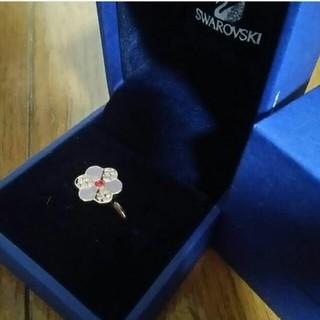スワロフスキー(SWAROVSKI)のスワロフスキー 花もチーフリング(リング(指輪))