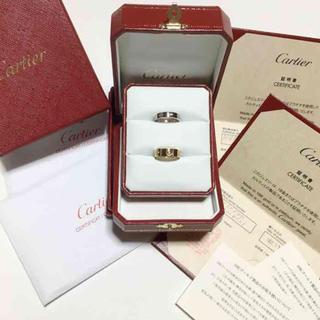 カルティエ(Cartier)の新品仕上 カルティエ ラブリング ミニラブリング ダイヤ 10号(リング(指輪))
