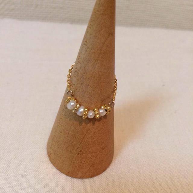 Ungrid(アングリッド)のungrid チェーンリング レディースのアクセサリー(リング(指輪))の商品写真