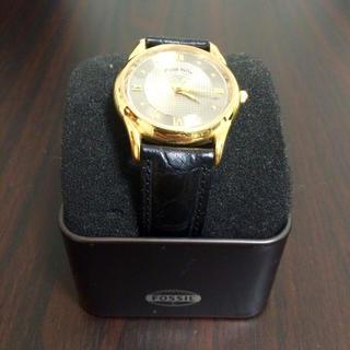フォッシル(FOSSIL)のFOSSIL 腕時計 レザー(腕時計(アナログ))