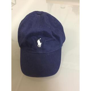 ポロラルフローレン(POLO RALPH LAUREN)のラルフローレン キッズ キャップ ネイビー(帽子