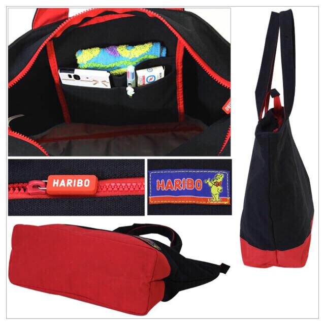【新品、未使用】HARIBO ハリボー トートバッグ ピンク レディースのバッグ(トートバッグ)の商品写真
