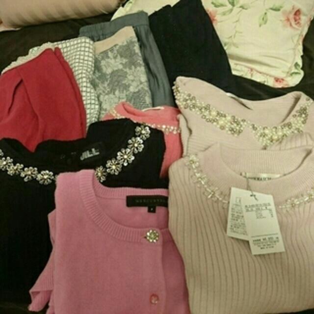 Rirandture(リランドチュール)のRay系 女子大生 福袋12着まとめて ピンク JILL レディースのトップス(ニット/セーター)の商品写真