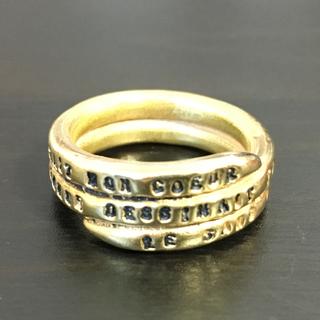 アッシュペーフランス(H.P.FRANCE)のセルジュトラヴァル ゴールドリング SERGE THORAVAL(リング(指輪))