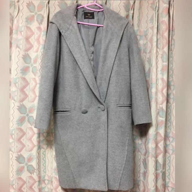 VENCE(ヴァンス)のvence グレーコート レディースのジャケット/アウター(ロングコート)の商品写真