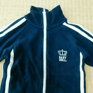 BABYDOLL(ベビードール)のBABYDOLL ロンパース 70 キッズ/ベビー/マタニティのベビー服(~85cm)(ロンパース)の商品写真