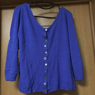 シンシア(cynthia)のjanis marcket/青色カーディガン(ニット/セーター)
