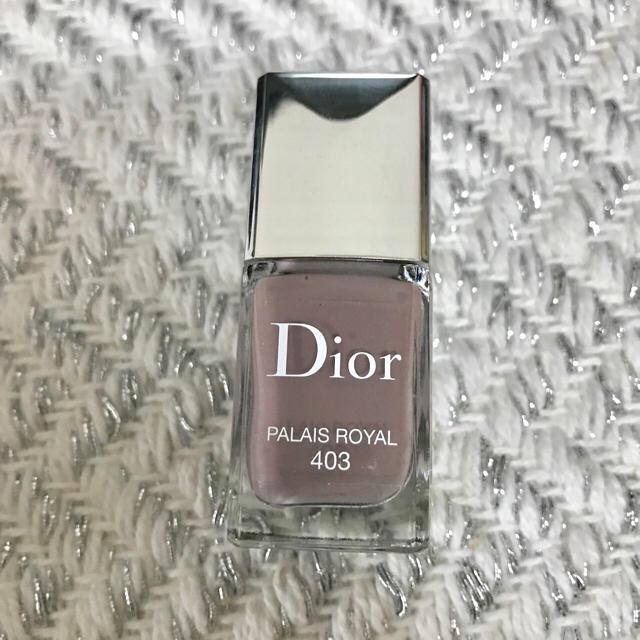 Dior(ディオール)のディオール ヴェルニ 403 パレローヤル コスメ/美容のネイル(マニキュア
