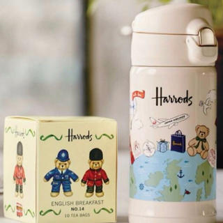 ハロッズ(Harrods)のmmm♡様専用◆ティーバックなし ハロッズ ステンレスマグボトル◆(タンブラー)