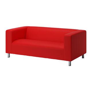 イケア(IKEA)のIKEA ソファーカバー クリッパン 2人掛け(ソファカバー)