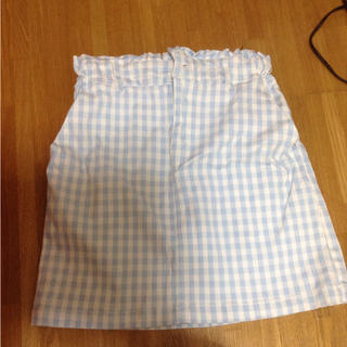 レイカズン(RayCassin)のギンガムチェック タイトスカート(ひざ丈スカート)
