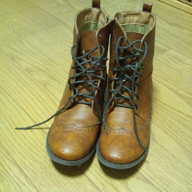 Bleu Bleuet(ブルーブルーエ)のブルーブルーエ*ブーツ レディースの靴/シューズ(ブーツ)の商品写真