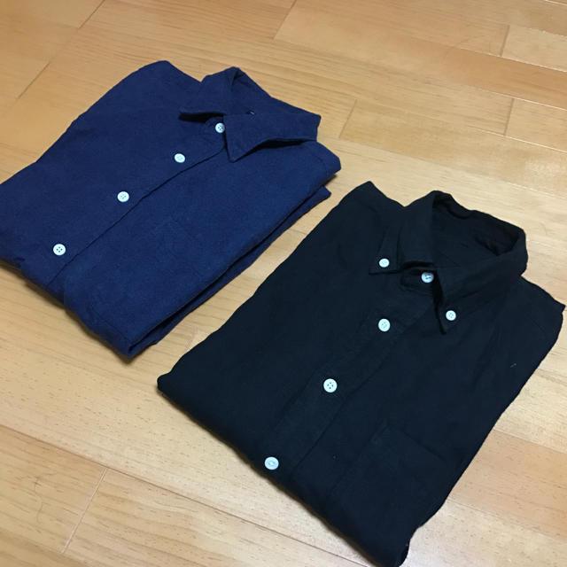 MUJI (無印良品)(ムジルシリョウヒン)の無印良品 フランネルシャツセット メンズのトップス(シャツ)の商品写真