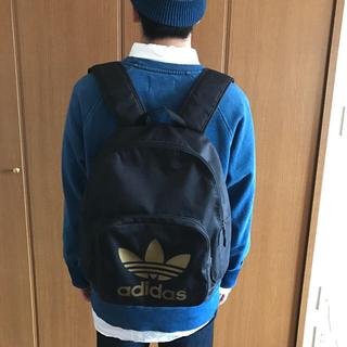 アディダス(adidas)の【adidas originals 】リュック 色:黒×ゴールド(リュック/バックパック)