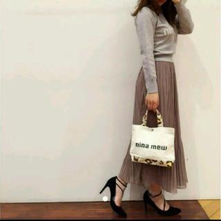 ニーナミュウ(Nina mew)のニーナミュウプリーツスカート(ロングスカート)