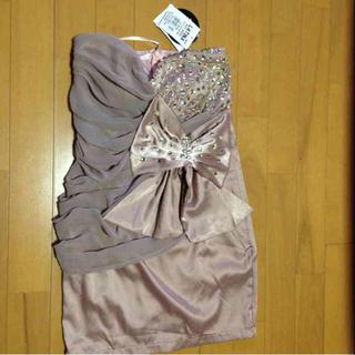 アナップラティーナ(ANAP Latina)のANAP LATINA ビジュー ミニワンピ  ドレス(ミニドレス)