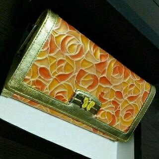 アナスイ(ANNA SUI)のアナスイ 長財布 ドルチェ オレンジ黄色(財布)