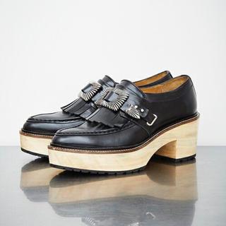 トーガ(TOGA)のhk様.取り置き*TOGA PULLA キルト木靴(ローファー/革靴)