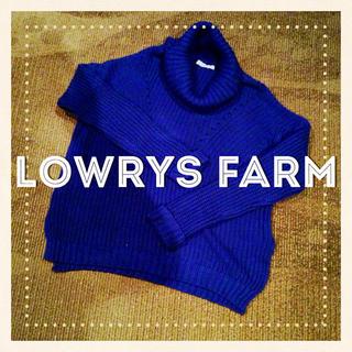 ローリーズファーム(LOWRYS FARM)のLOWRYSFARMタートルネックニット(ニット/セーター)