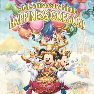 ディズニー(Disney)の新品☆ディズニーリゾート30周年ファイナルグッズ 巾着(キャラクターグッズ)