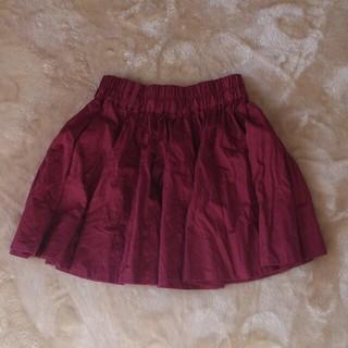 ローリーズファーム(LOWRYS FARM)のサテンスカート♪(ミニスカート)