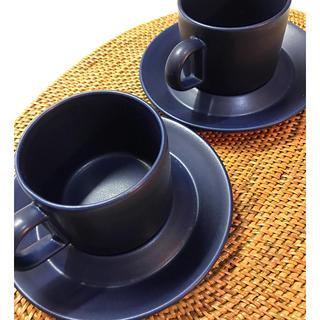 アラビア(ARABIA)のあんこ様専用 アラビアブルース カップ&ソーサー2セット(グラス/カップ)