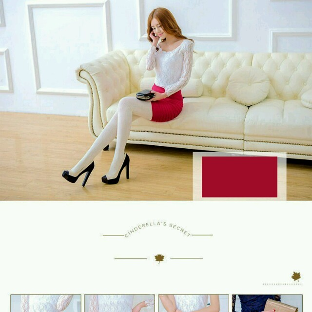 タイトスカート(イエロー) レディースのスカート(ミニスカート)の商品写真