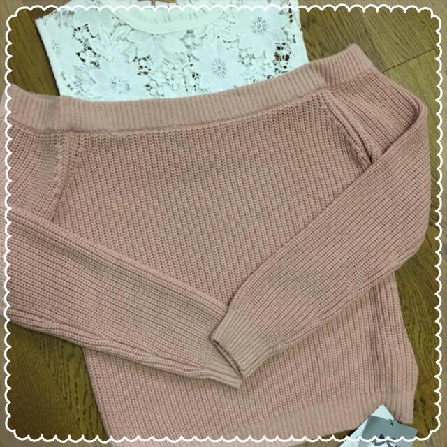 Rirandture(リランドチュール)の新品♡こじはる着用リランドチュールデコルテレースニット レディースのトップス(ニット/セーター)の商品写真