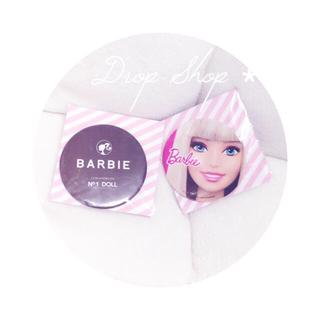 バービー(Barbie)のʚ꒰⑅新品非売品💕barbie缶ミラー2こ+メモ帳⑅꒱ɞ(その他)