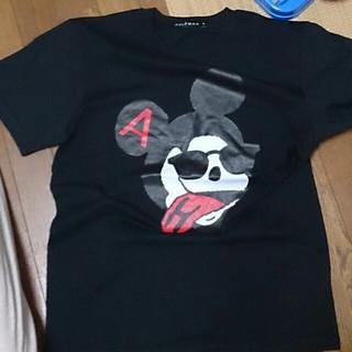ハーフマン(HALFMAN)の新品、未使用 ミッキーT(Tシャツ(半袖/袖なし))