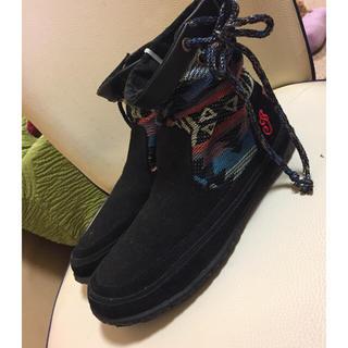 インディアン(Indian)のフラットショートブーツ(ブーツ)