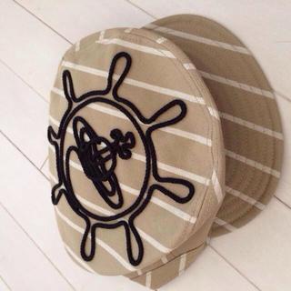 ヴィヴィアンウエストウッド(Vivienne Westwood)の帽子 バンビネックレス(キャップ)