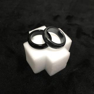 ストーンリング/オニキス×ヘマタイト ▶︎天然石リング(リング(指輪))