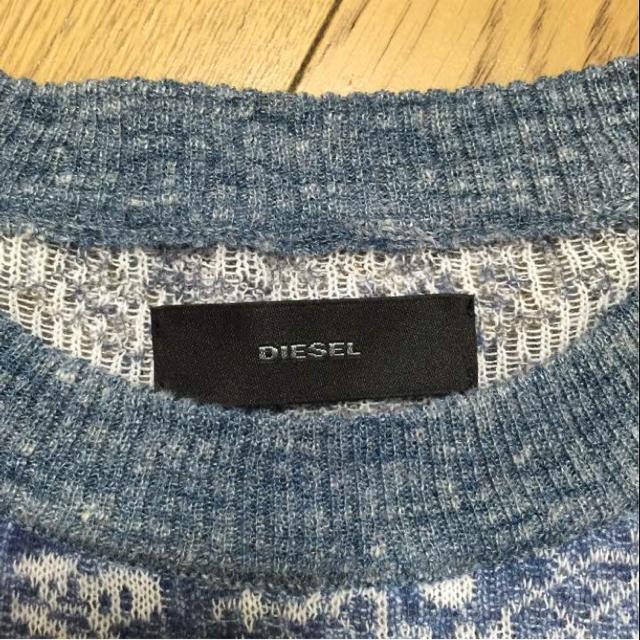 DIESEL(ディーゼル)の極美品☆DIESEL☆ペイズリーパッチワークニット レディースのトップス(ニット/セーター)の商品写真