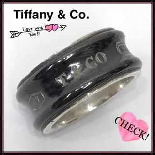 ティファニー(Tiffany & Co.)のTiffany & Co. ティファニー 1837 SV925×チタンリング(リング(指輪))