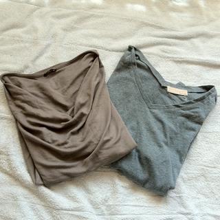 ★ナチュラル半袖トップスのセット★(Tシャツ(半袖/袖なし))