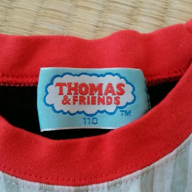 トーマス ノースリーブ 110  キッズ/ベビー/マタニティのキッズ服 男の子用(90cm~)(Tシャツ/カットソー)の商品写真