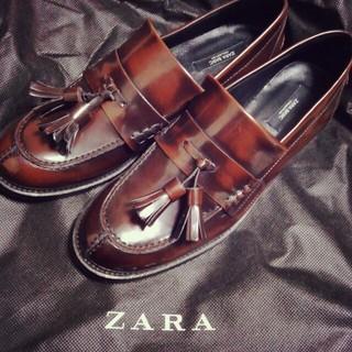 ザラ(ZARA)のローファー パンツセット(ローファー/革靴)
