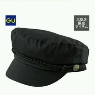 ジーユー(GU)のマリンキャップ * キャスケット * キャップ * gu * 帽子(キャップ)