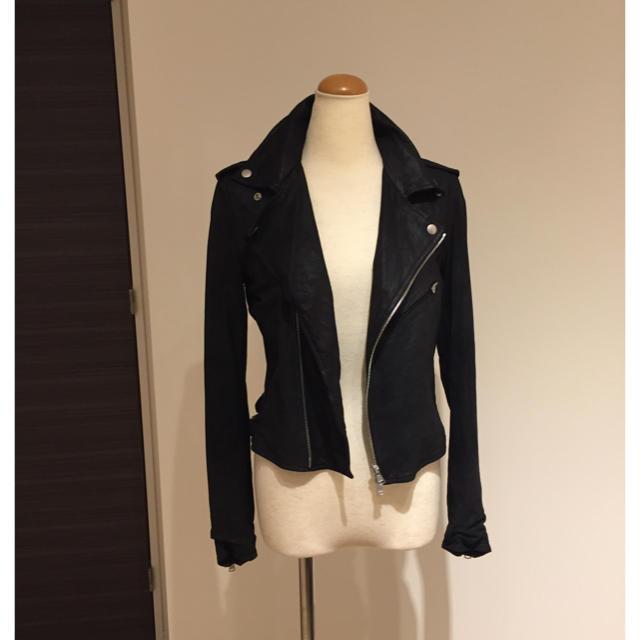 Edition(エディション)の💓💓💓エスメラルダ様専用💓💓💓Edition✨ シープ ライダース レディースのジャケット/アウター(ライダースジャケット)の商品写真