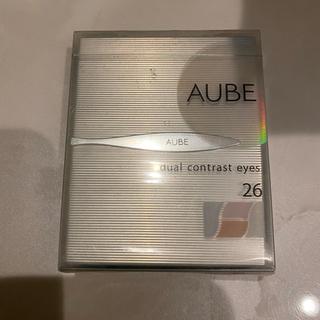オーブクチュール(AUBE couture)のソフィーナ AUBE    デュアルコントラストアイズ 25日  シルバー系  (アイシャドウ)