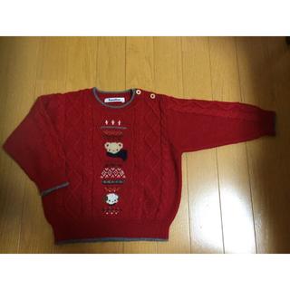 ファミリア(familiar)のさくら様・セーター・90cm・familiar(ニット)