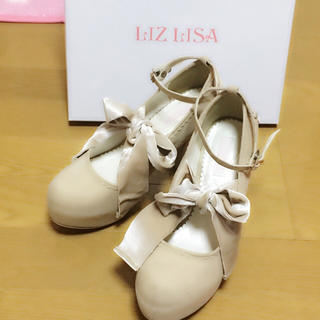 リズリサ(LIZ LISA)のLIZLISA * ベアリボンパンプス(ハイヒール/パンプス)